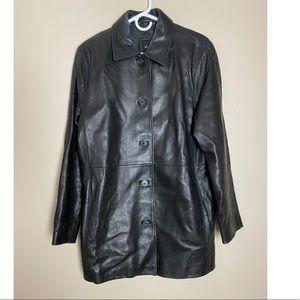 JLC New York Large  Leather Jacket